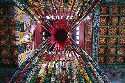Bouddhisme exhubérant à Amarbayasgalant Khiid
