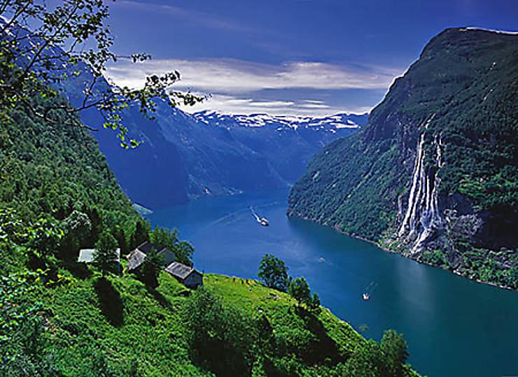 Norvège, autour du fjord de Geiranger