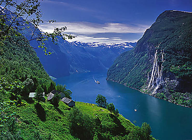 norv ge autour du fjord de geiranger. Black Bedroom Furniture Sets. Home Design Ideas