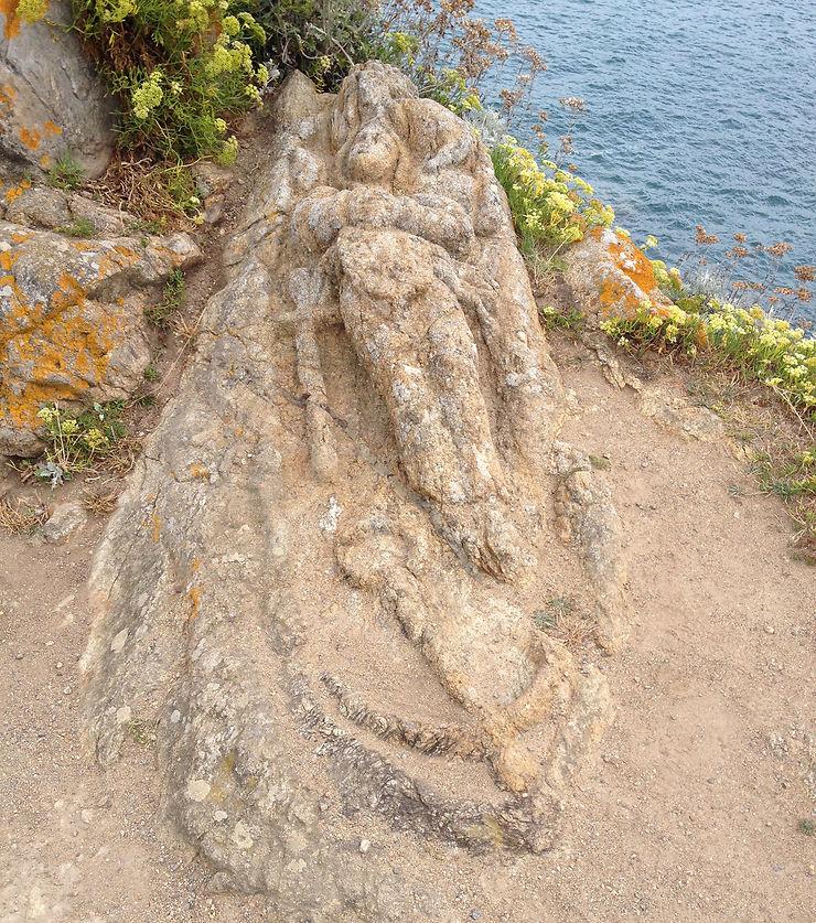 Les rochers sculptés de Rothéneuf - Ille-et-Vilaine