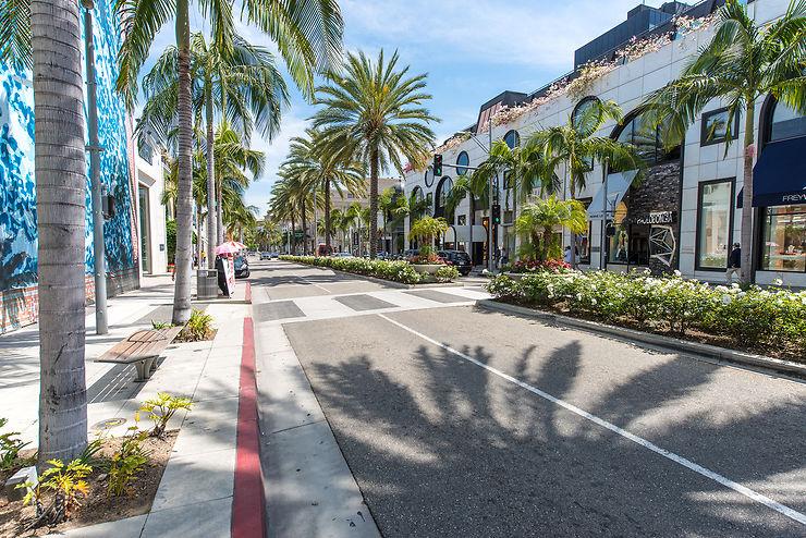 Bel Air et Beverly Hills : le triangle d'or de L.A.