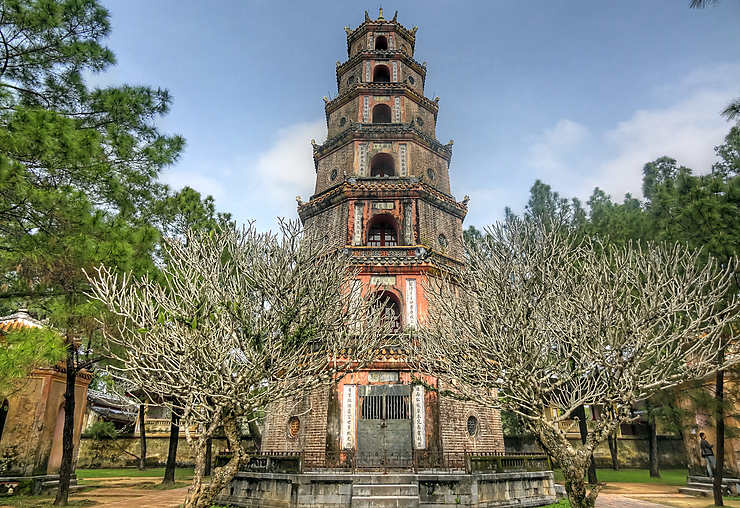 Pagode de Thiên Mu, Vietnam
