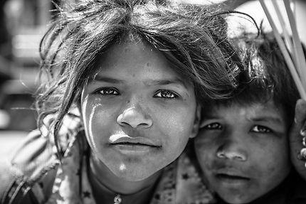 Portrait d'enfant à Jaipur