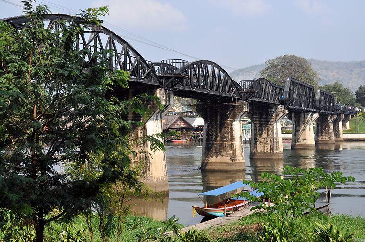 Thaïlande, autour du pont de la rivière Kwaï