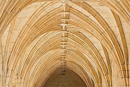 Lisbonne - Belém - Monastère - Impressionnantes voûtes