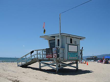 Poste de surveillance de plage