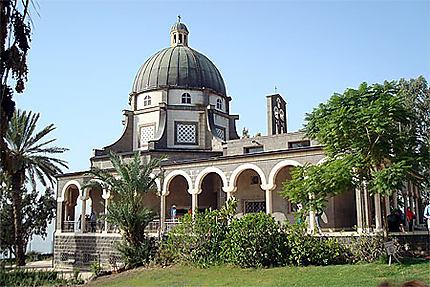 Eglise des Béatitudes en Galilée