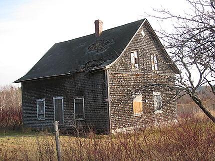Ancienne école à Baie-des-Sables