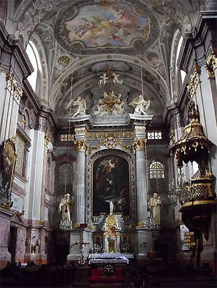 Kostol Alzbetinok : le choeur