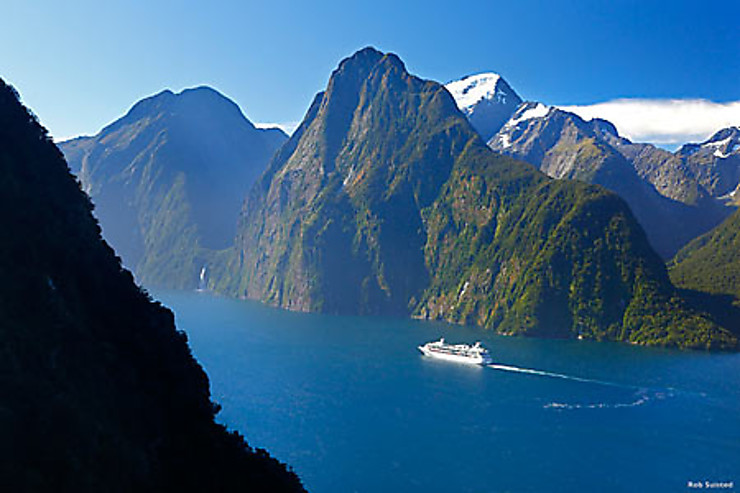 Le fjord Milford Sound, of silence…