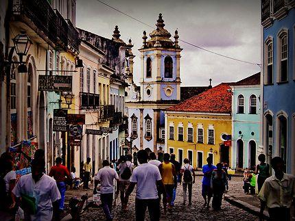 Pelourinho-Salvador de Bahia