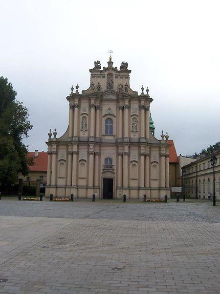 Eglise de la Visitandine à Varsovie