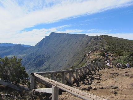 Sentier du Rempart au Piton Maïdo, Réunion