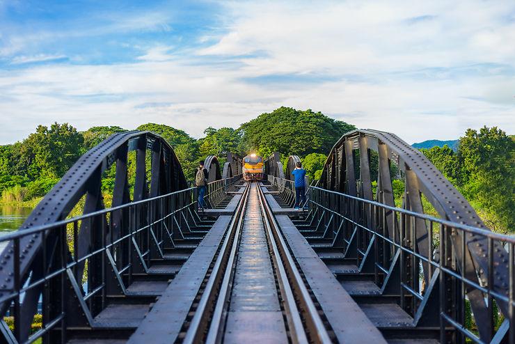 Le pont de la rivière Kwaï et le chemin de fer de la mort