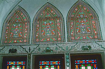 Tabatabayes house window