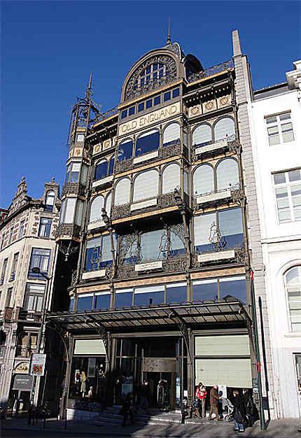 Le Old England (musée des instruments de musique), Bruxelles