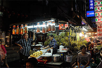 Bangkok chinatown nuit