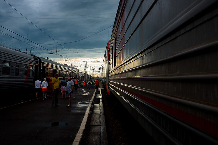 Le Transsibérien, l'autre temporalité, Russie