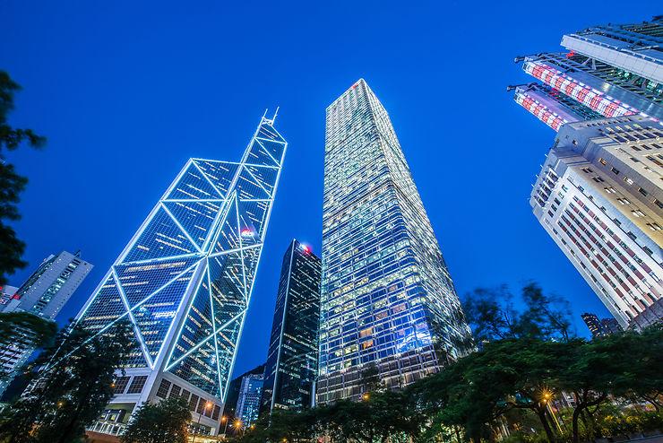 Bank of China Tower - Hong Kong, Chine