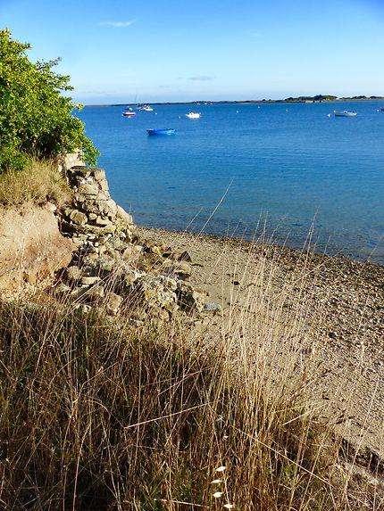 Joli bord de mer à Gâvres