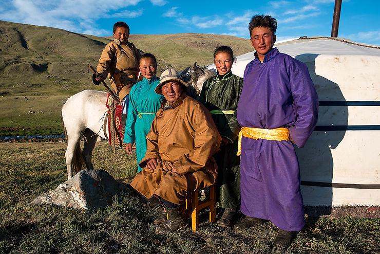 Nomades du Kharkhiraa : Dorj et sa famille, Mongolie