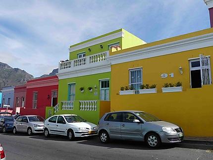 Maisons colorées du Quartier Malais