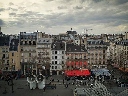 Vue depuis le Centre Pompidou