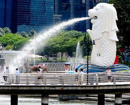 Le celebre lion fontaine