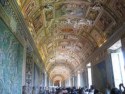Galerie des cartes Musée du Vatican