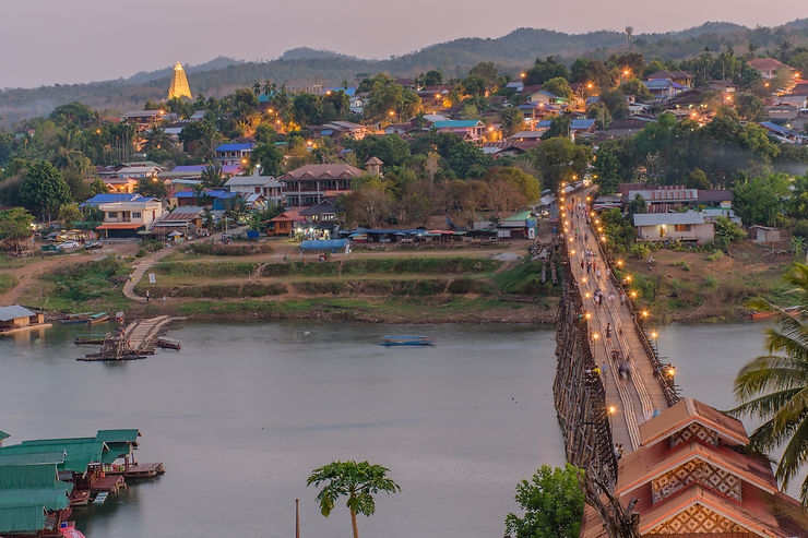 Vers la frontière birmane