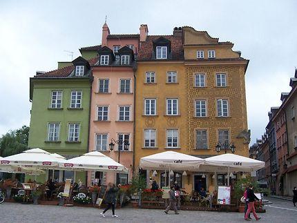 Place Zamkowy à Varsovie