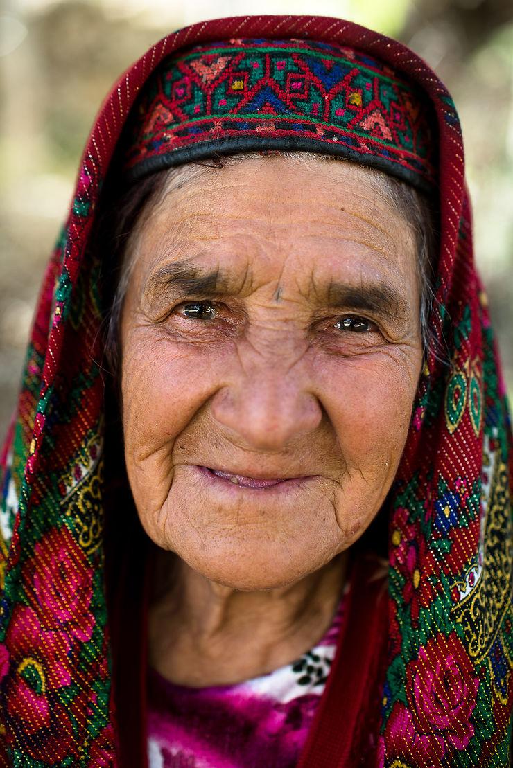 Femme de la vallée du Wakhan, Tadjikistan