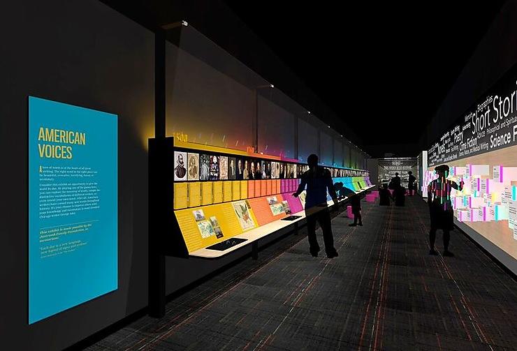 États-Unis - Chicago : l'American Writers Museum, nouveau musée sur la littérature américaine