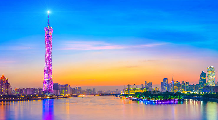 Canton Tower - Canton, Chine