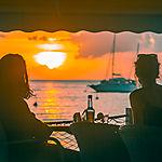 Coucher de soleil à Deshaies