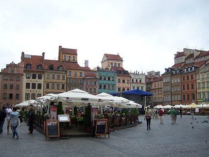 Place du Vieux Marché à Varsovie