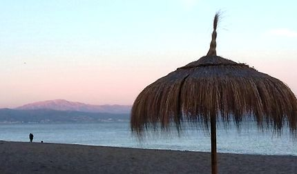 Coucher de soleil à Torremolinos