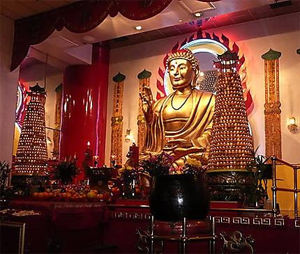 Temple bouddhiste à Chinatown