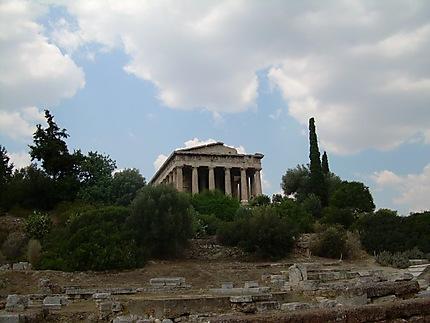 Temple à Athènes
