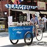 Vendeur de crèmes glacées