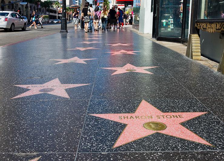 Walk of Fame Hollywood, Los Angeles, Californie