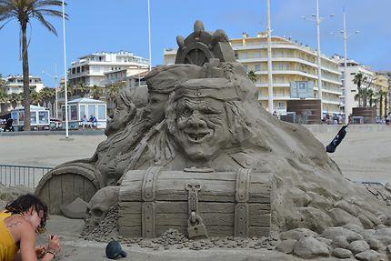 Décor sable