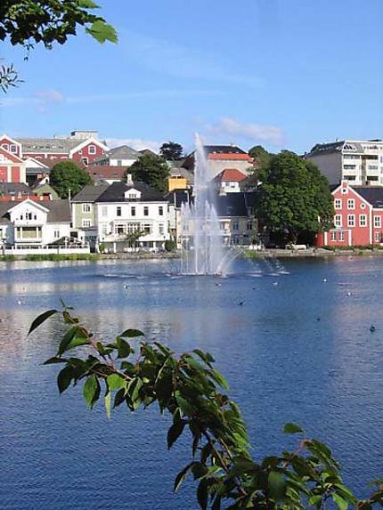 L'étang de Stavanger
