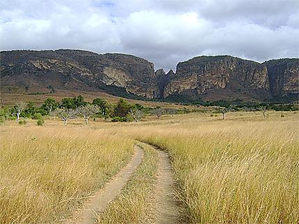 La route pour la canyon des makis