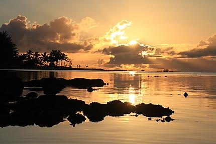 Lever de soleil à l'île Maurice