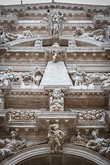 Chiesa San Moise - La superbe façade !!!