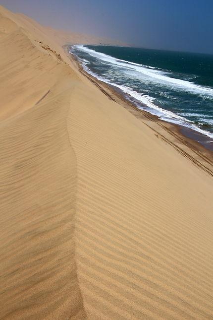 Quand le désert rencontre l'océan