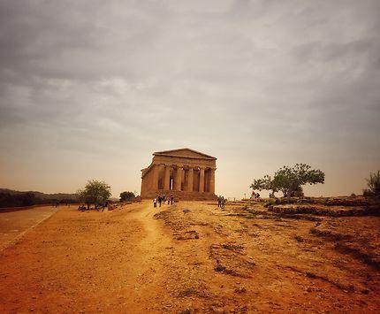 Vallée des temples à Agrigiente