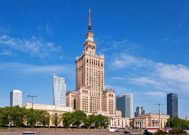 Palais de la Culture et de la Science - Varsovie, Pologne