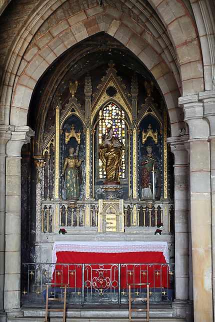 Une des chapelles de l'église